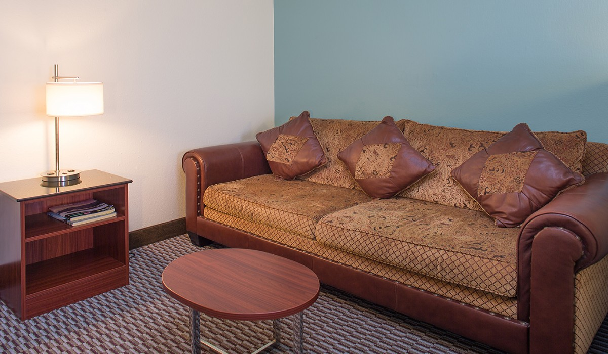 King Suite Couch - Hotel Mira Vista